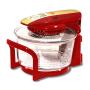 Аэрогриль Hotter HX-1057 Platinum LCD красный с золотом