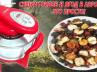 сушка грибов и ягод в аэрогриле Hotter
