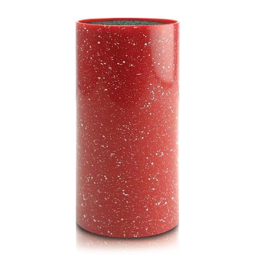 Подставка для ножей Erringen 11×22,5 см красная